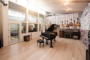 The large live room - Studio Bloch